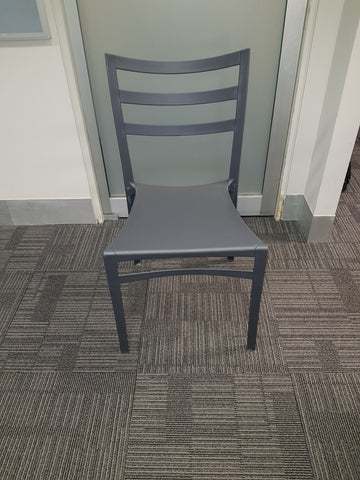 Grey Chairs (Stackable)