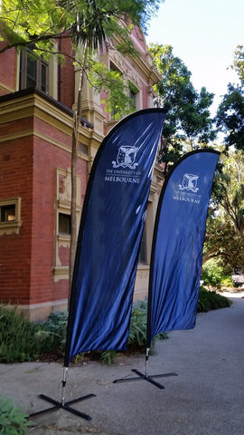 Feather Banners - UoM Logo