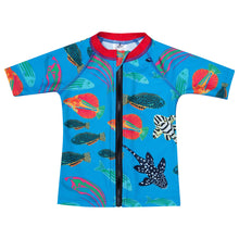 Tropical fish sunshirt
