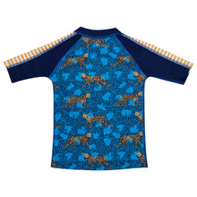 baby sunshirt blue and orange HappieCo