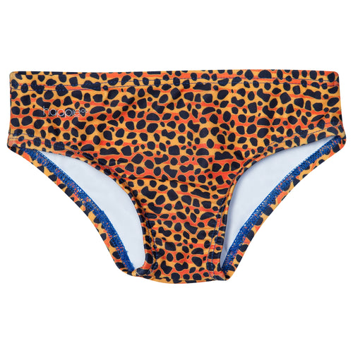 Leopard swim brief