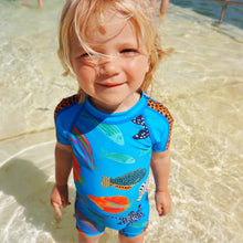 Tropical Fish sunsuit