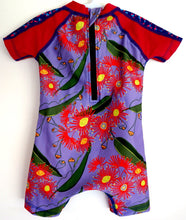 Flowering gum sunsuit