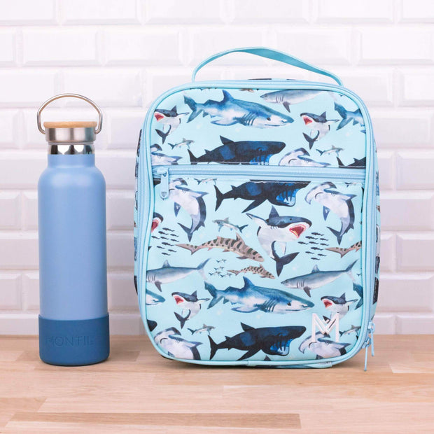 Montii Co - Insulated Lunch Bag Shark