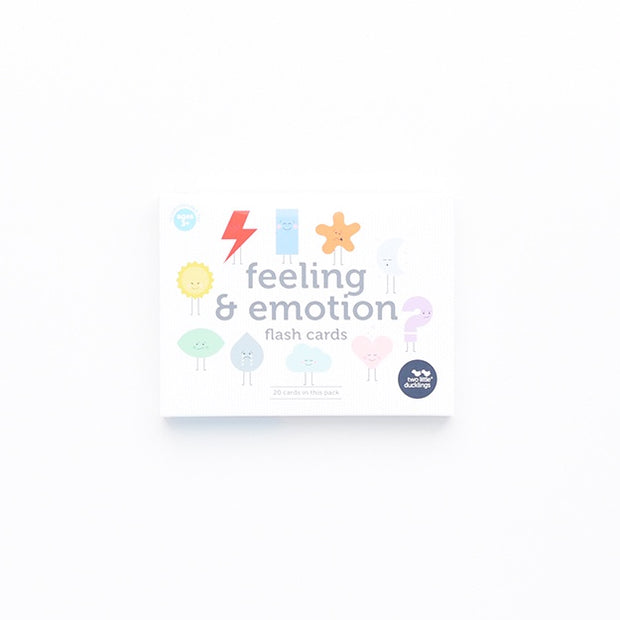 Two Little Ducklings - Feeling & Emotion Flash Cards