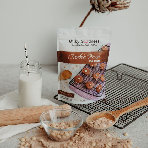 Milky Goodness - Double Choc Lactation Cookies Packet Mix