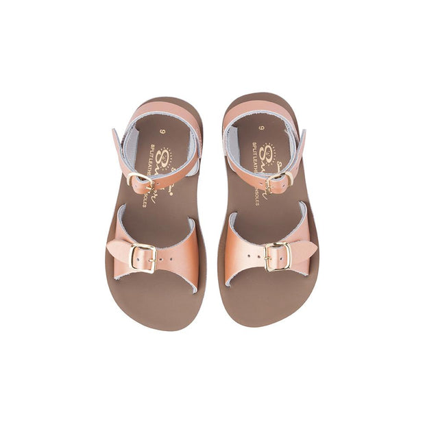 Saltwater Sandals - Sun San Surfer Rose Gold