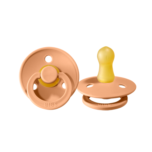 BIBS - Pacifier 2 pack Peach