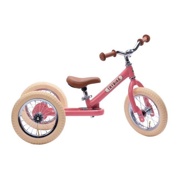 Try Bike - Pink Vintage 2 in 1