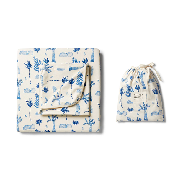 Wilson + Frenchy - Fitted Sheet Set Jungle