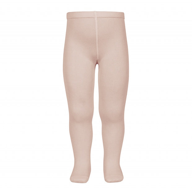 Condor Barcelona – Plain Stitch Basic Tights Old Rose