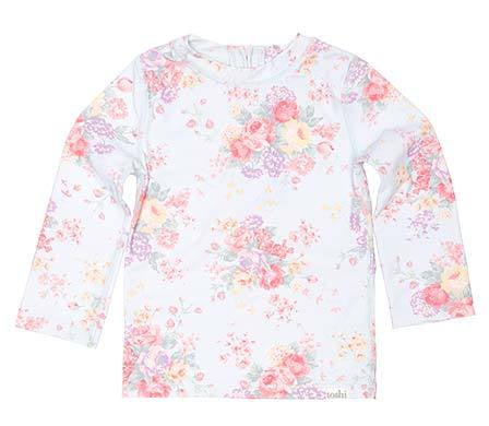 Toshi - Swim Rashie Long Sleeve Celeste