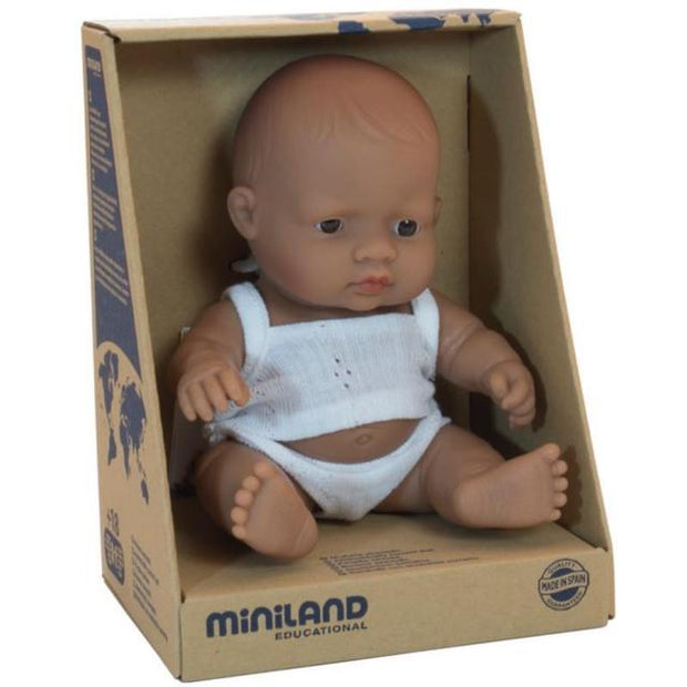 Miniland Doll - 21cm Hispanic Girl