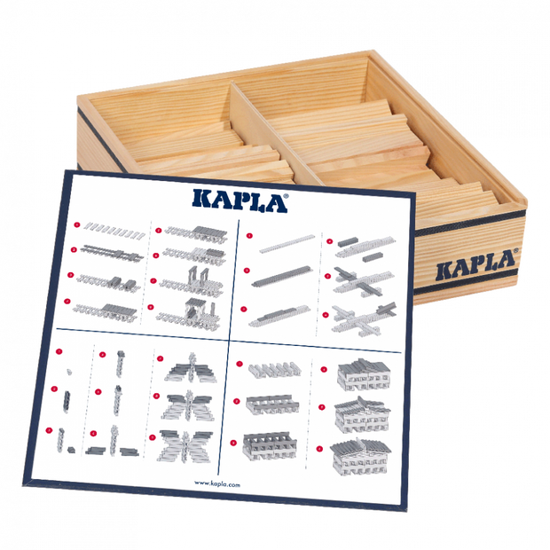 Kapla - Wooden Game 100 Pieces Natural