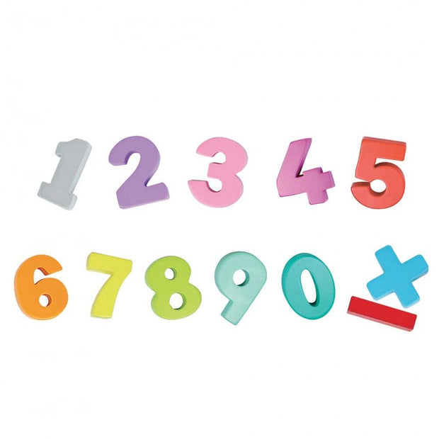 Sassi - Numbers Wooden Toys & Book