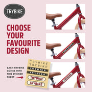 Try Bike - Red Vintage 2 in 1