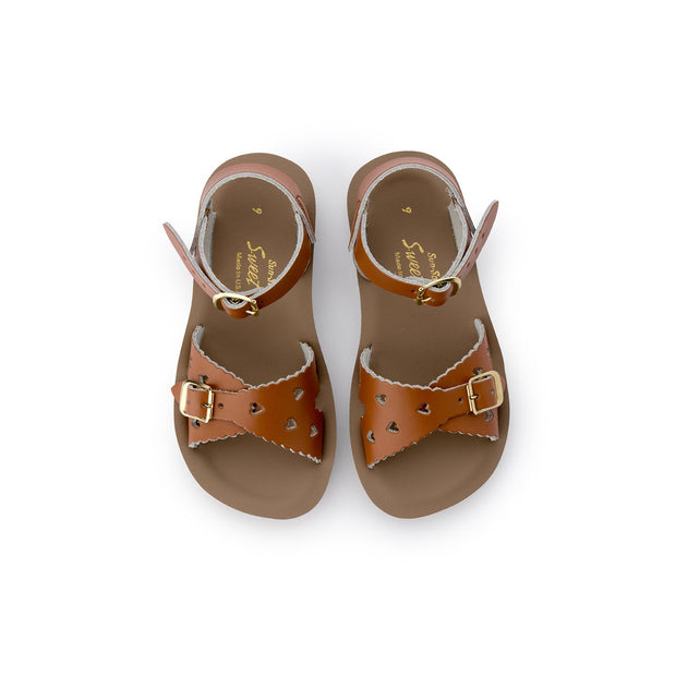 Saltwater Sandals - Sun San Sweetheart Tan