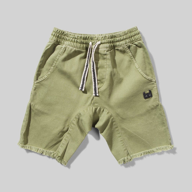 Munster Kids - Atlantic Short Washed Olive
