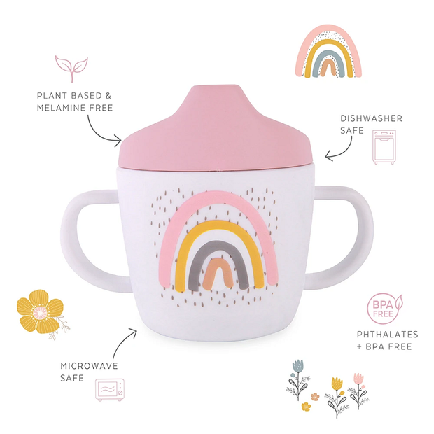 Love Mae - Sippy Cup Rainbow