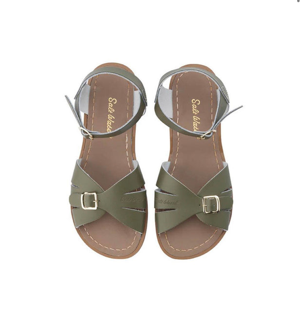 Saltwater Sandals - Classic Olive