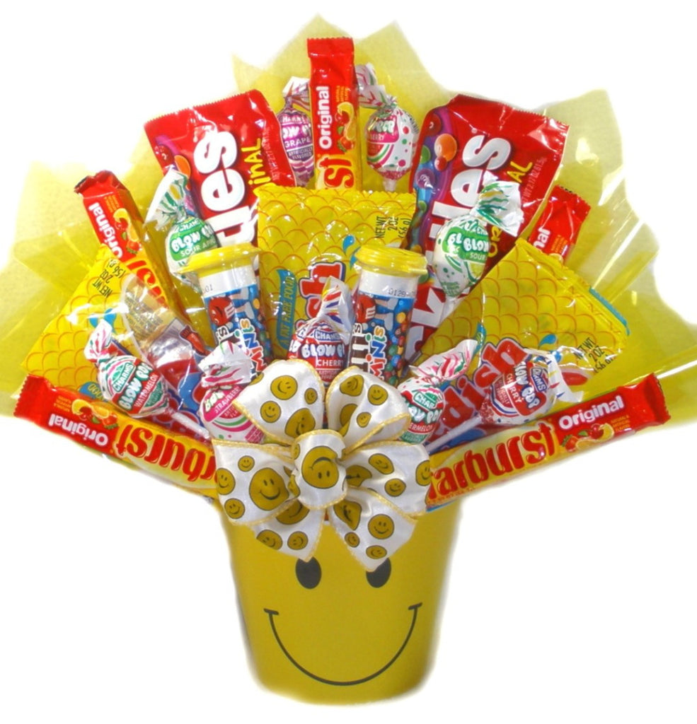 Sweets and Smiles Candy Bouquet