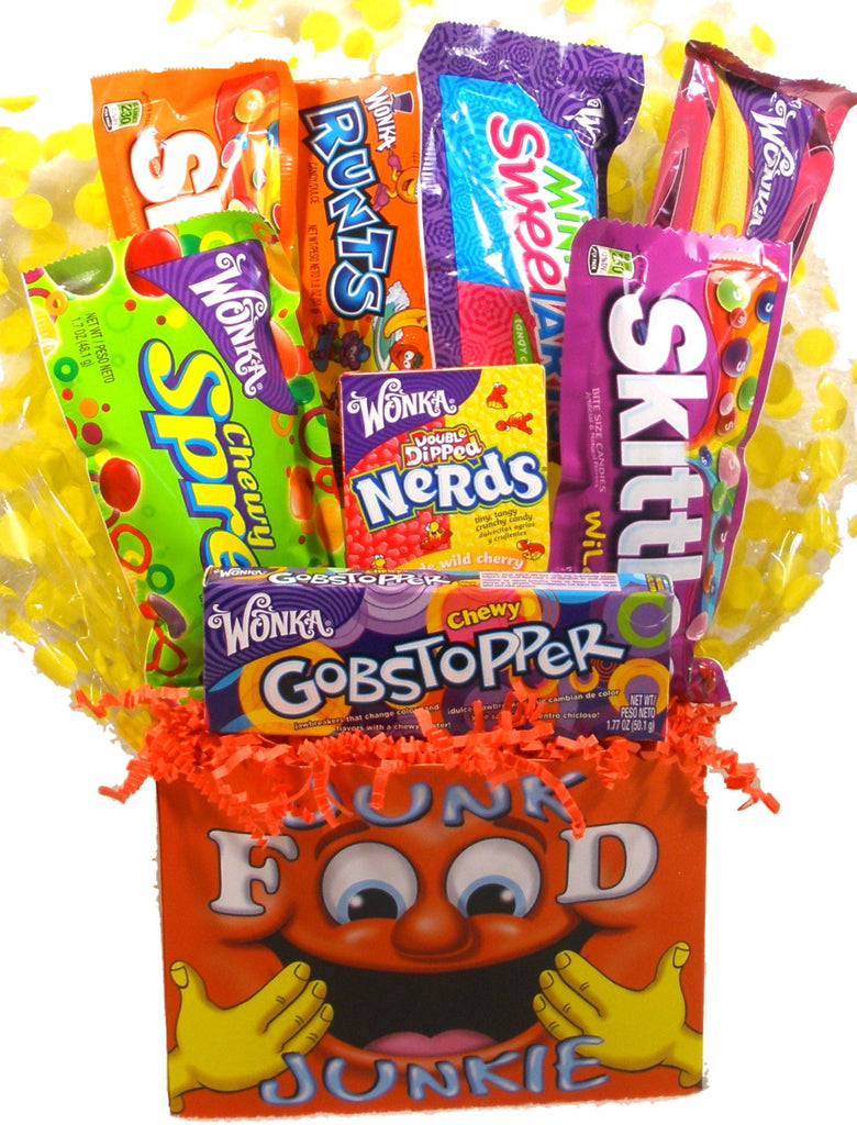 "Junk Food ""Junkie"" Gift Basket"