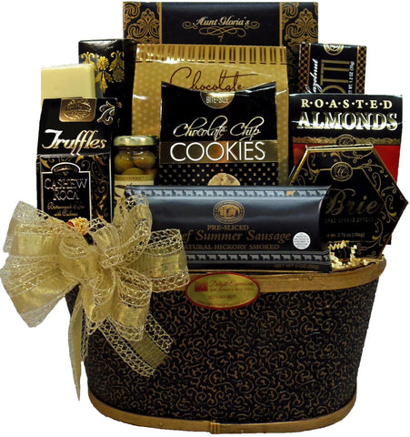 Thoughtful Wishes Gourmet Gift Basket