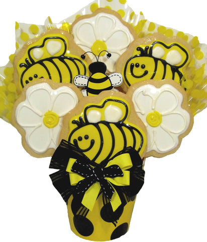 Just BEEcause Cookie Bouquet