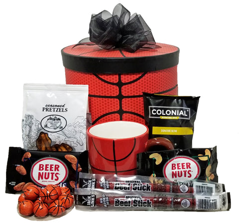 Three-Point-Play Basketball Gift Box
