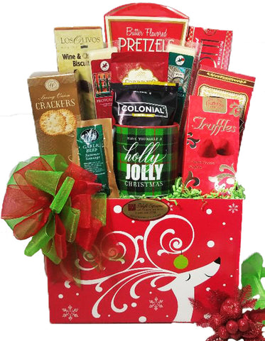 Dashing Reindeer Holiday Gift Box