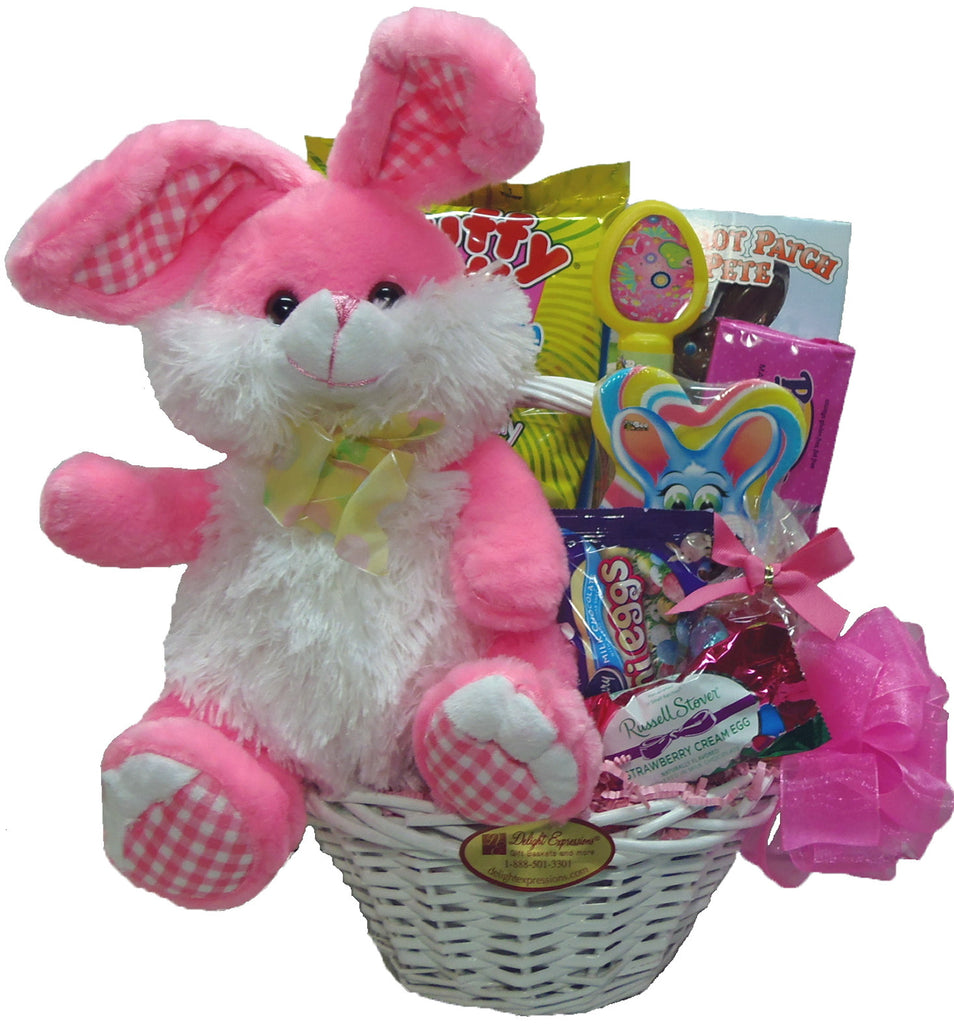 """Easter Bunny"" Gift Baskets for Girls"
