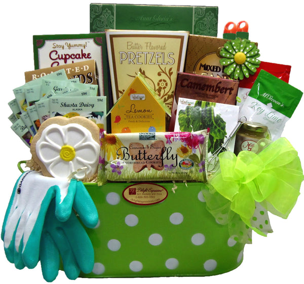 """Garden in Bloom"" Gourmet Gift Basket"