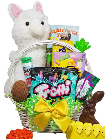 """Have a Llamazing Easter"" Gift Basket for Kids"