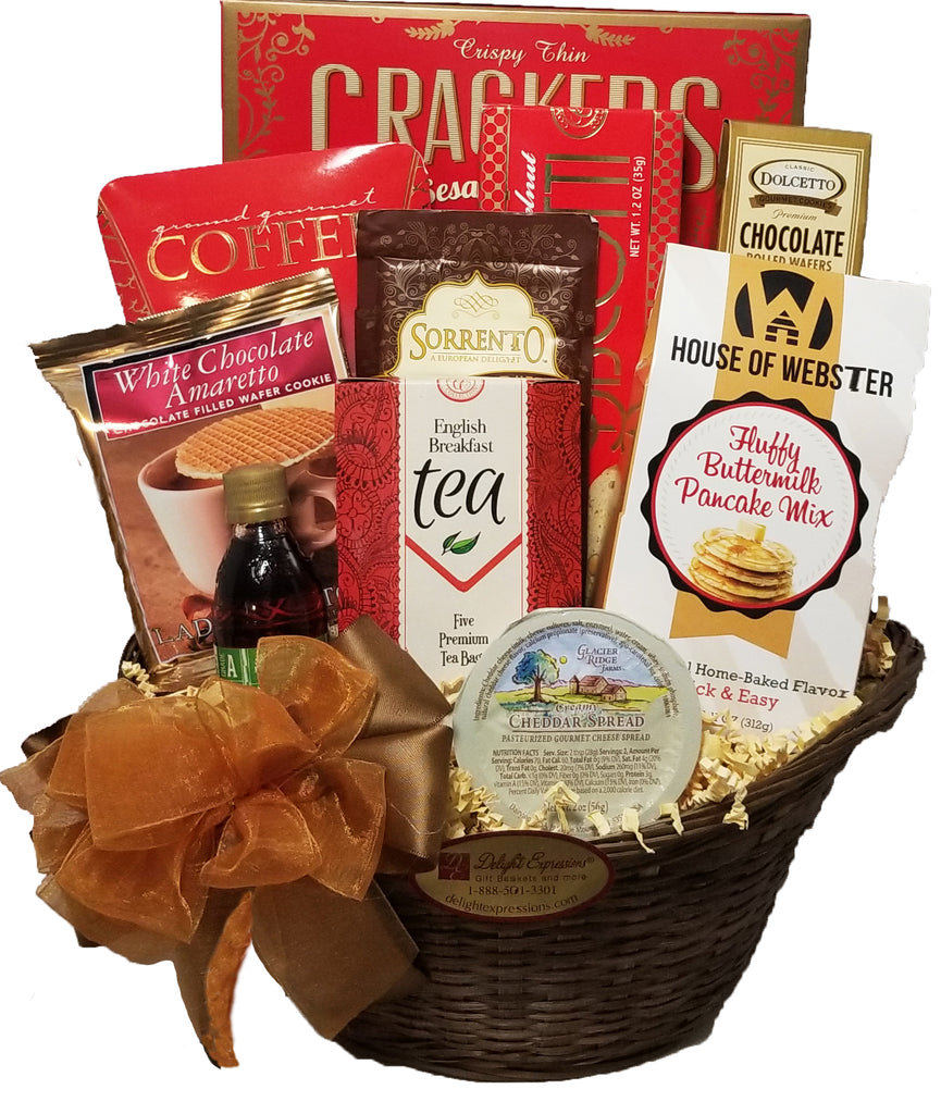 Morning Delights Gourmet Gift Basket