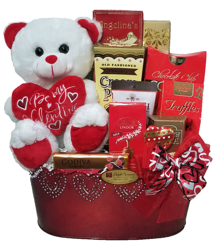 Sweet Temptation Valentine's Day Gourmet Gift Basket