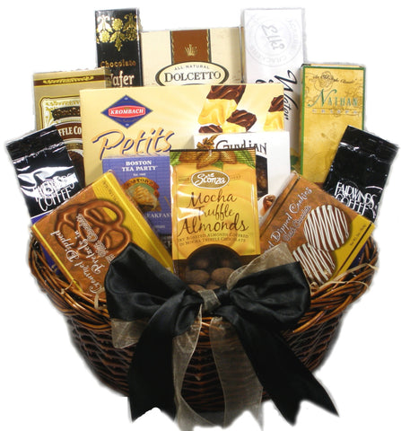 With Deepest Sympathy Gourmet Food Gift Basket