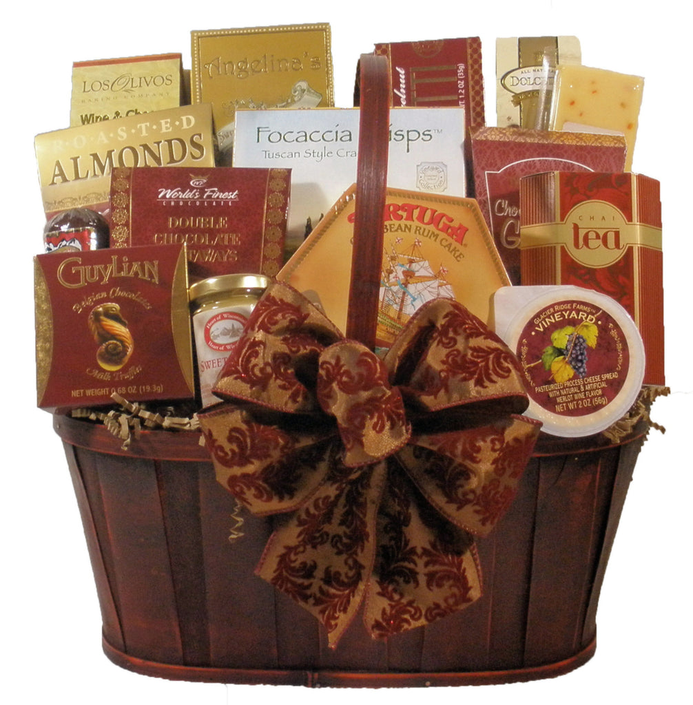 """Thinking of you"" Gourmet Gift Basket (Large)"
