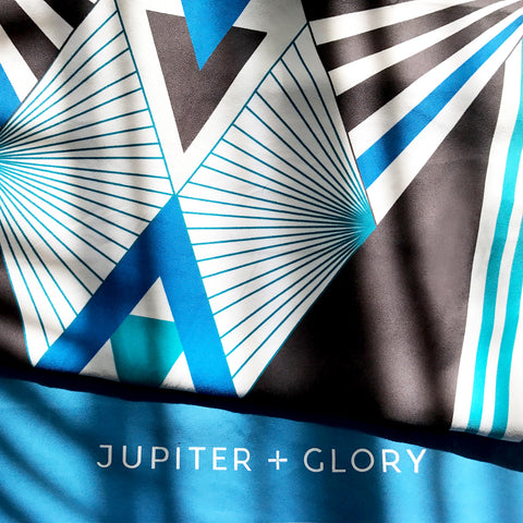 Compact travel towel beach jupiter and glory
