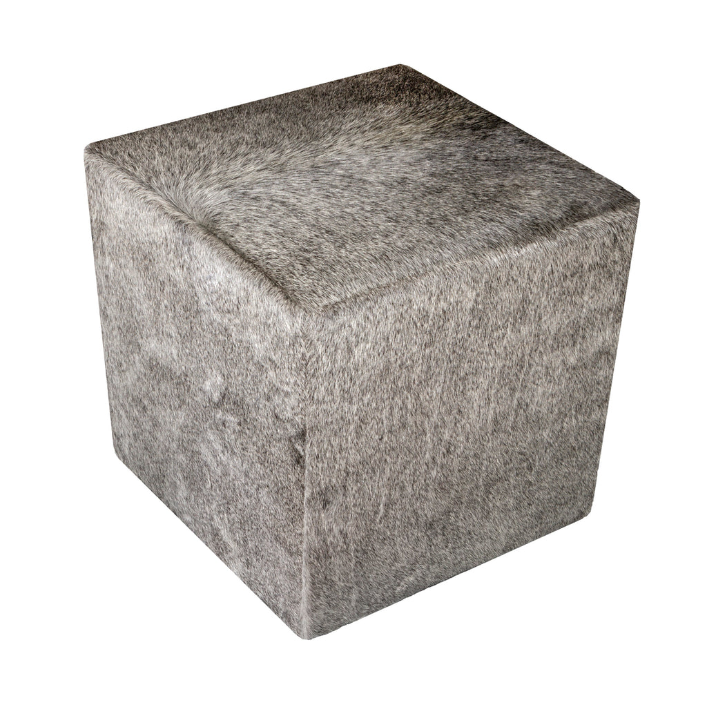 Ottoman Light Grey 16x16x16 (made in USA)