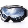 JULI Ski Goggles,Winter Snow Sports Snowboard Ski Mask with Anti-fog UV Protection Double Lens for Men Women Snowmobile Skating