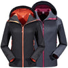 LoClimb Waterproof Softshell Ski Jacket Men Women Winter Warm Fleece Coat Outdoor Sports Trekking Fishing Hiking Jackets,AM092