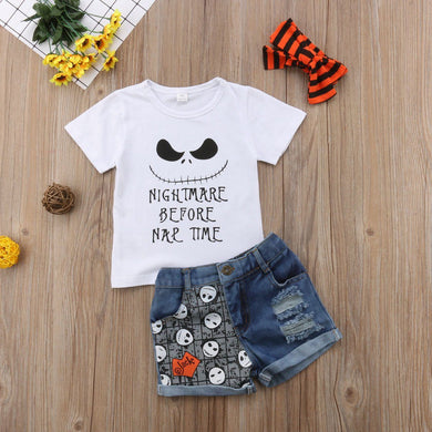 Nightmare Before Nap Time 3pcs Set || 18M - 4T