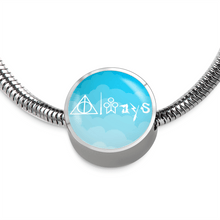 Always Charm Bracelet Sky Blue