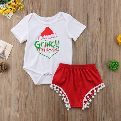 Grinch Please 2 Pcs Set