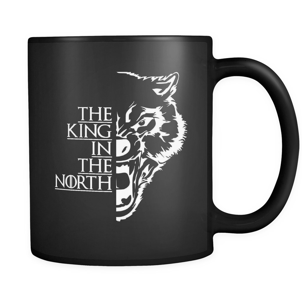 The King In The North Black 11oz Mug