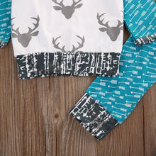 Deer Long Sleeve Clothing Set