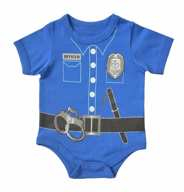 Baby Police Onesie || Little Policeman