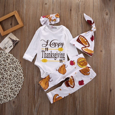 Happy Thanksgiving 4 Pcs Set