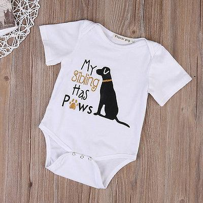 My Sibling Has Paws Onesie