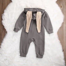 Baby Bunny Cotton Long Sleeve Romper